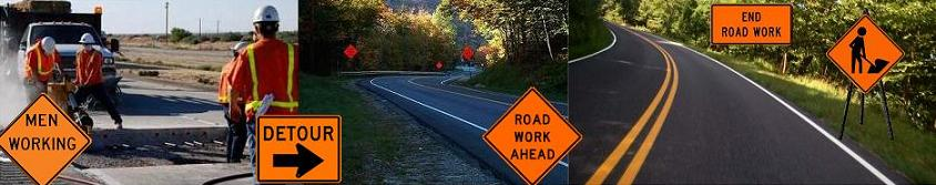 protect your workers by letting motorists know when construction and maintenance is being done road construction signs are used to warn drivers of a