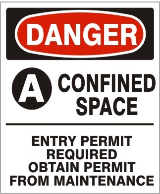 CONFINED SPACE PERMIT ENTRY