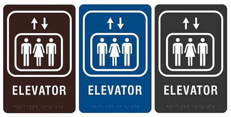 ada compliant elevator sign i safetysupplywarehouse com