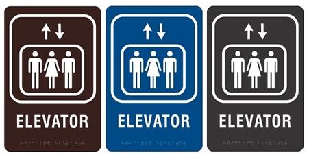 Ada compliant elevator sign i - Ada interior signage requirements ...