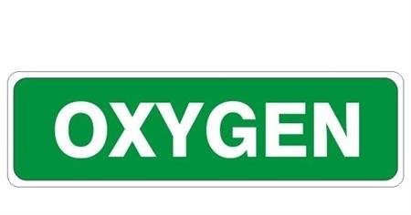 Oxygen Sign 4 X 20
