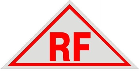 Rf Roof And Floor Truss Construction Sign