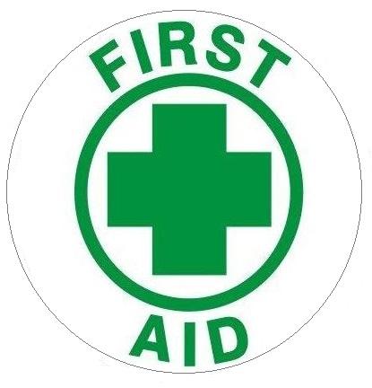 Hard Hat First Aid Decals