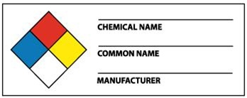 Nfpa Chemical Hazard Labels