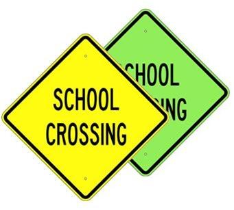Buy SCHOOL CROSSING Sign