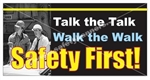 Safety First Banners and Posters, Choose from 6 sizes