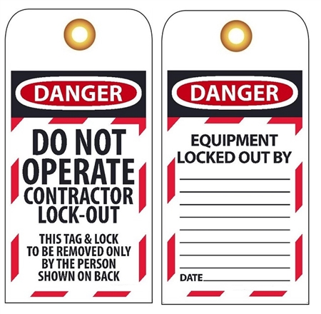 lock out tag out form pdf