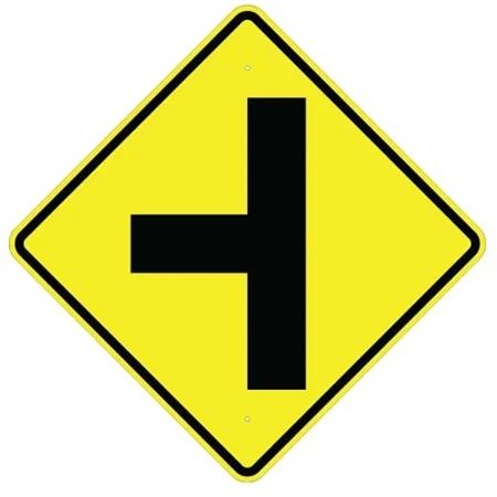 SIDE ROAD Symbol Sign
