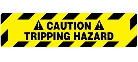 Anti Slip Caution Tripping Hazard Stair Marker