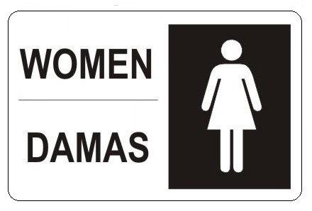 Women's Bathroom Sign You Can't Unsee women bathroom sign - bathroom design