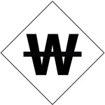 Pre-printed Symbol W - Clear pressure sensitive vinyl Available in 1, 2, 3, 4, and 6 inch - 5 Identical Symbols per Pack.