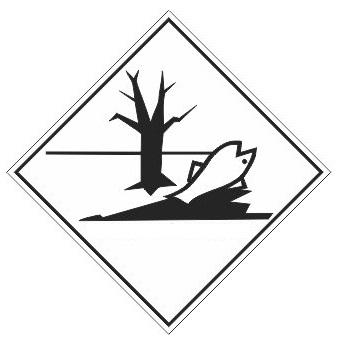 Marine Pollutant Dot Placard