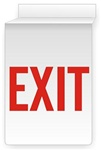 "EXIT 13"" X 10"" Double-Sided Drop Ceiling Sign"