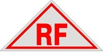 ROOF Truss & FLOOR Sign RF- 12 X 6 Aluminum