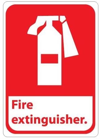 FIRE EXTINGUISHER Symbol Sign - FP-10309