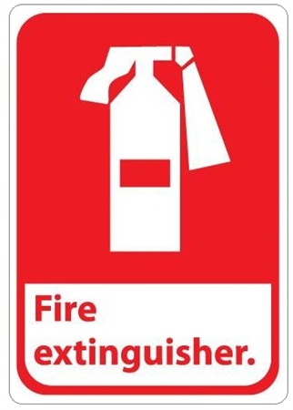 Fire Extinguisher Symbol Sign Fp 10309