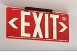 PM100 Series GloBrite® Eco Exit Sign - 7070B Single Sided or 7072B Double Sided