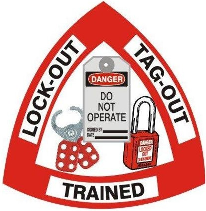 Lock-out Tag-out Trained - Hard Hat Labels are constructed from Durable, Pressure Sensitive Vinyl or Engineer Grade Reflective for maximum day or nighttime visibility.