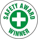 Safety Award Winner - Hard Hat Labels are constructed from Durable, Pressure Sensitive Vinyl or Engineer Grade Reflective for maximum day or nighttime visibility.