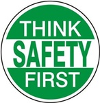 Think Safety First - Hard Hat Labels are constructed from Durable, Pressure Sensitive Vinyl or Engineer Grade Reflective for maximum day or nighttime visibility.