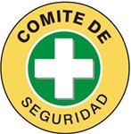 Spanish Comite De Seguridad - Hard Hat Labels are constructed from Durable, Pressure Sensitive Vinyl or Engineer Grade Reflective for maximum day or nighttime visibility.