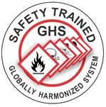 Globally Harmonized System Trained- Hard Hat Labels are constructed from Durable, Pressure Sensitive Vinyl or Engineer Grade Reflective for maximum day or nighttime visibility.