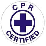 CPR Certified - Hard Hat Labels are constructed from Durable, Pressure Sensitive Vinyl or Engineer Grade Reflective for maximum day or nighttime visibility.