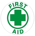 First Aid - Hard Hat Labels are constructed from Durable, Pressure Sensitive Vinyl or Engineer Grade Reflective for maximum day or nighttime visibility.