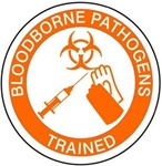 Bloodborne Pathogens Trained - Hard Hat Labels are constructed from Durable, Pressure Sensitive Vinyl or Engineer Grade Reflective for maximum day or nighttime visibility.