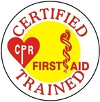 Certified CPR and First Aid Trained - Hard Hat Labels are constructed from Durable, Pressure Sensitive Vinyl or Engineer Grade Reflective for maximum day or nighttime visibility.