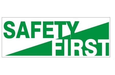 Safety First Hard Hat Labels are constructed from Durable, Pressure Sensitive Vinyl or Engineer Grade Reflective for maximum day or nighttime visibility.