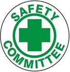 Safety Committee - Hard Hat Labels are constructed from Durable, Pressure Sensitive Vinyl or Engineer Grade Reflective for maximum day or nighttime visibility.