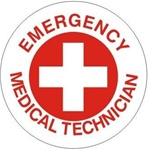 Emergency Medical Technician - Hard Hat Labels are constructed from Durable, Pressure Sensitive Vinyl or Engineer Grade Reflective for maximum day or nighttime visibility.