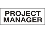 Project Manager - Hard Hat Labels are constructed from Durable, Pressure Sensitive Vinyl or Engineer Grade Reflective for maximum day or nighttime visibility.