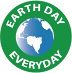Earth Day Everyday - Hard Hat Labels are constructed from Durable, Pressure Sensitive Vinyl, Sold 25 per pack