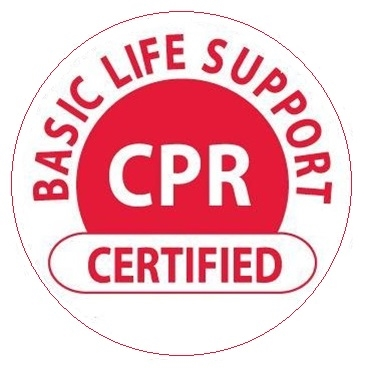 Basic Life Support CPR Certified - Hard Hat Labels are constructed from Durable, Pressure Sensitive or Reflective Vinyl, Sold 25 per pack