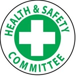 Health & Safety Committee - Hard Hat Labels are constructed from Durable, Pressure Sensitive Vinyl, Sold 25 per pack