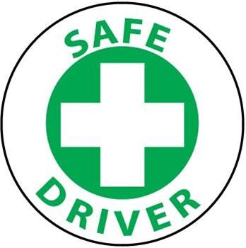 Hard Hat Emblem Safe Driver