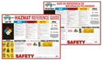 Hazmat Reference Guide Poster - 18 X 24 - Available in English or Spanish
