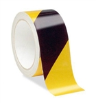 Black/Yellow Reflective Hazard Warning Tape - Available in 2 and 3 inch widths X 10 Yard Rolls