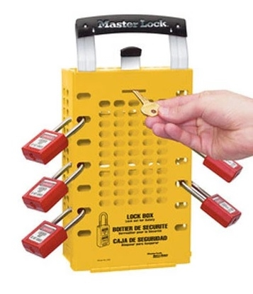 Group Lock Box - 503 Yellow - The Latch Tight Group Lock Box will keep all of your keys well organized and protected until everyone is accounted for.