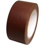 Brown Vinyl Marking Tape - Available 2, 3 or 4 inch by 108 foot rolls.