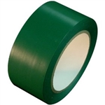 Green Vinyl Marking Tape - Available 2, 3 or 4 inch by 108 foot rolls.