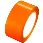 Orange Vinyl Marking Tape - Available 2, 3 or 4 inch by 108 foot rolls.