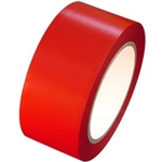 Red Vinyl Marking Tape - Available 2, 3 or 4 inch by 108 foot rolls.