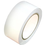 White Vinyl Tape -  Available 2, 3 or 4 inch by 108 foot rolls.