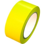 Yellow Vinyl Marking Tape - Available 2, 3 or 4 inch by 108 foot rolls