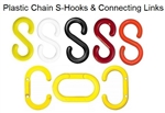Plastic Chain, S-Hooks & Connecting Links
