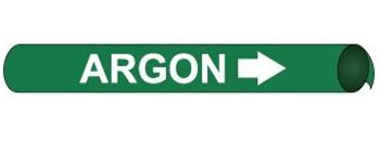 Argon Pre-coiled and Strap On Pipe Markers - Available in 8 Sizes