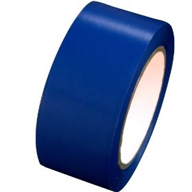 Dark Blue Vinyl Marking Tape - Available in 2, 3 and 4 inch widths X 108' length